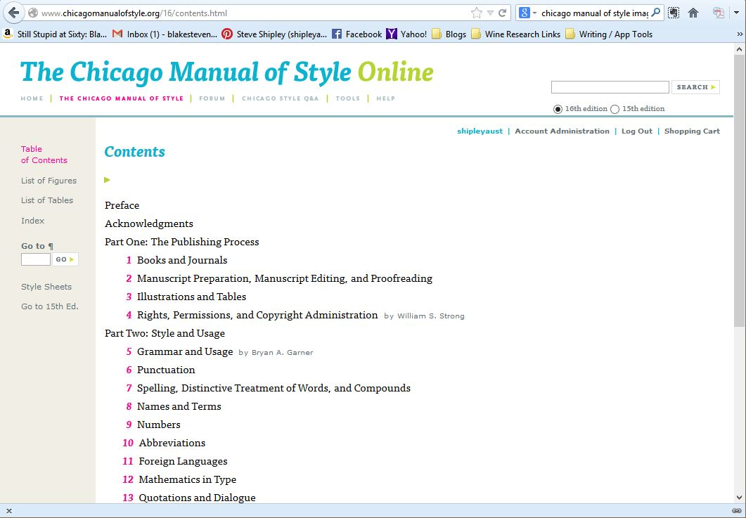 the chicago manual of style pdf free download